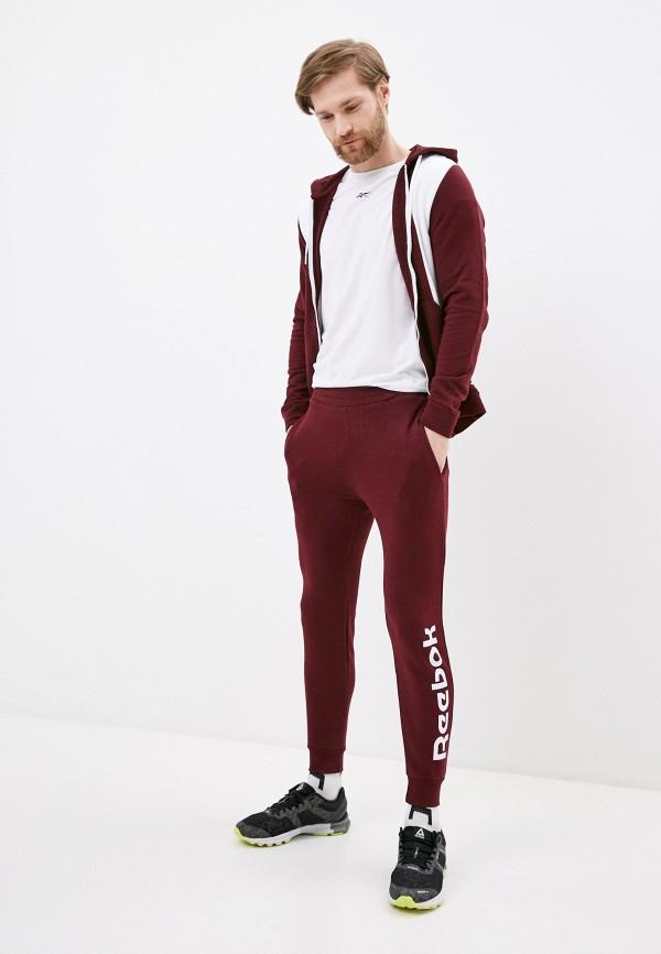 мужской спортивный костюм reebok, бордовый