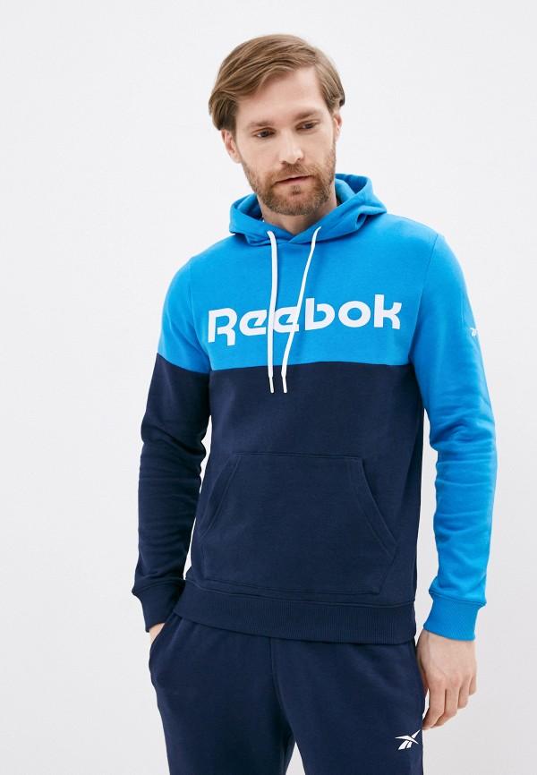 мужские худи reebok, синие