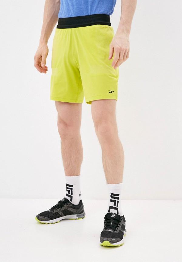 мужские шорты reebok, зеленые
