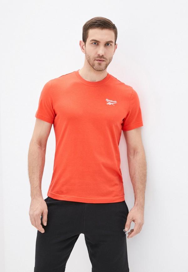 Футболка Reebok оранжевого цвета