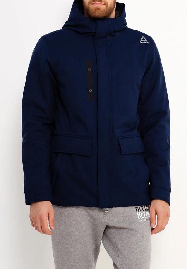 Купить Куртка утепленная Reebok, OD PAD PRKA, RE160EMUPN26, синий, Осень-зима 2017/2018