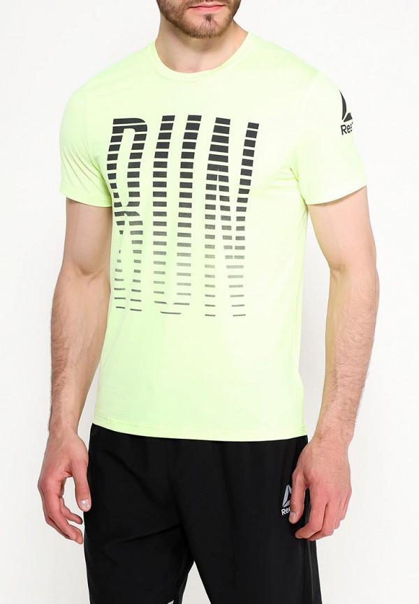 Футболка спортивная Reebok Reebok RE160EMUPN68 футболка спортивная reebok reebok re160emcdmn2