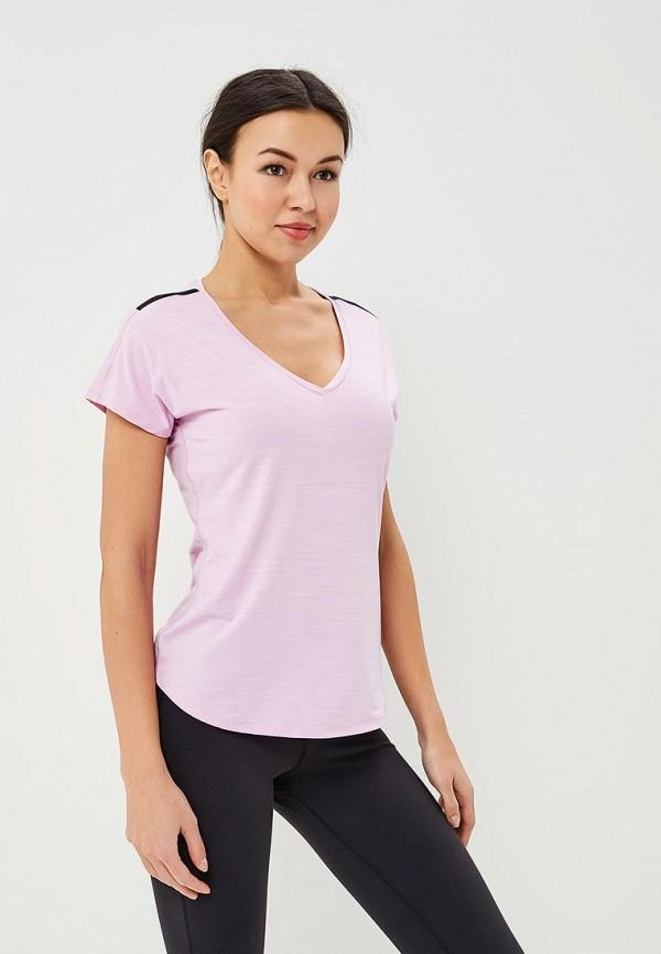 Купить Футболку спортивная Reebok розового цвета