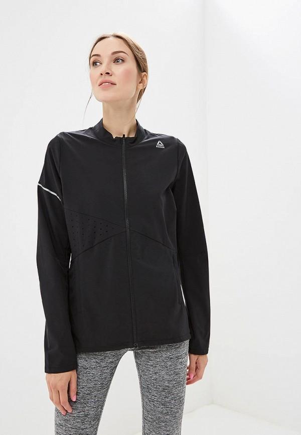 женская куртка reebok, черная