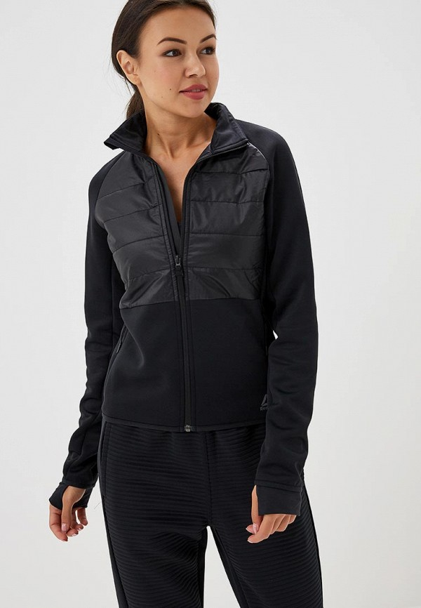 Купить Куртка Reebok, OS THERMO DP PADDED JKT, RE160EWCDND9, черный, Осень-зима 2018/2019