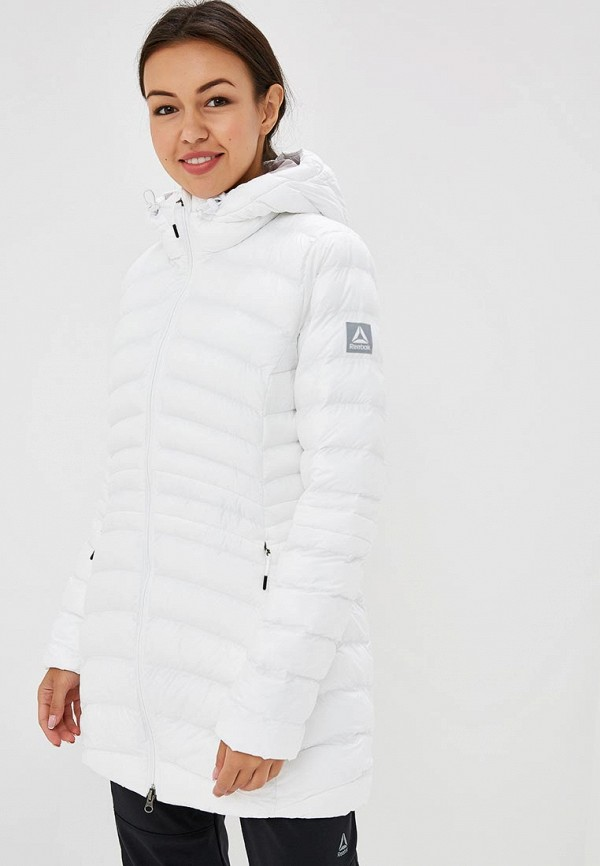 Купить Куртка утепленная Reebok, OD DWNLK PRKA, RE160EWCDNV3, белый, Осень-зима 2018/2019