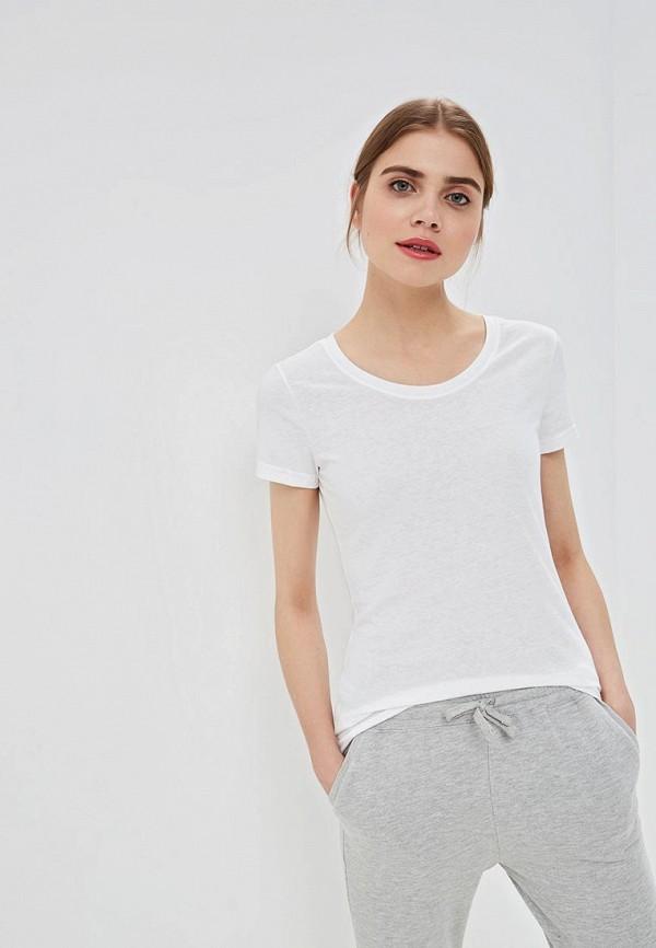 женская спортивные футболка reebok, белая