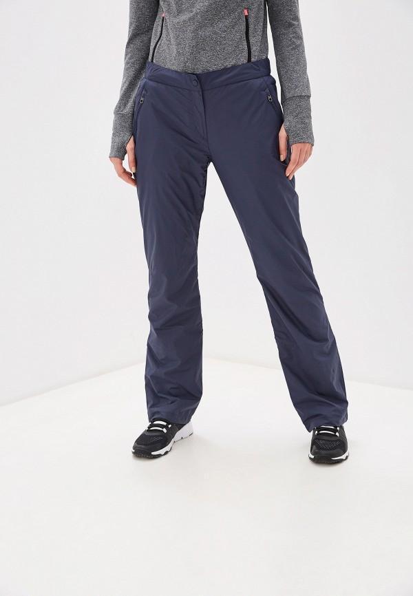 женские брюки reebok, синие