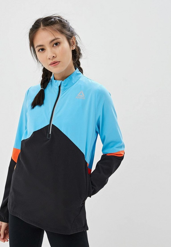 Куртка спортивная Reebok Reebok RE160EWFKLX8 спортивная куртка klingel цвет черный синий