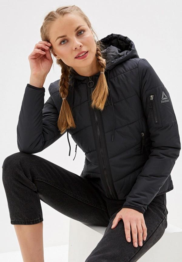 Фото - Куртку утепленная Reebok черного цвета