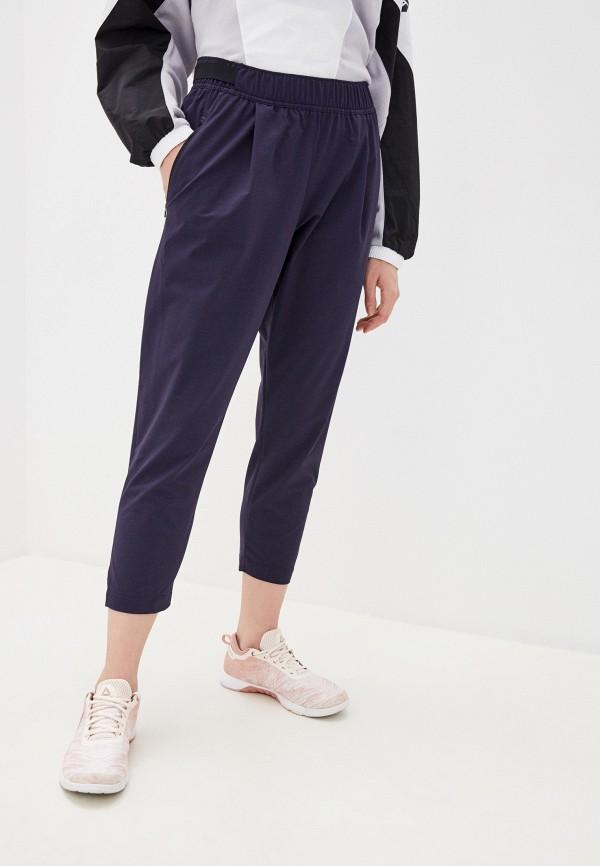 женские спортивные брюки reebok, фиолетовые