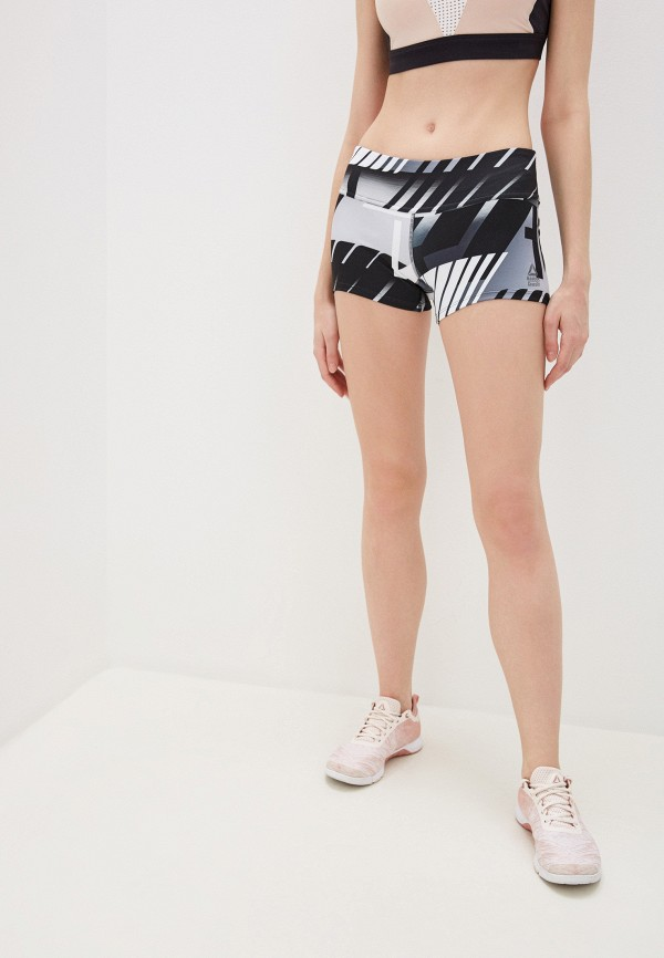 женские спортивные шорты reebok, разноцветные