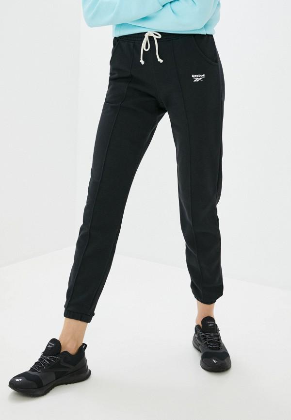 женские спортивные брюки reebok, черные