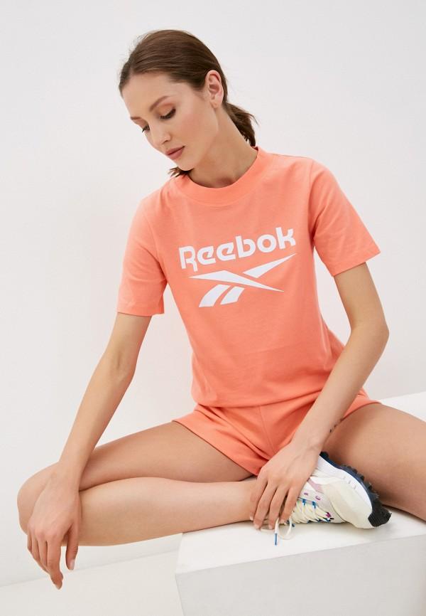 женская спортивные футболка reebok