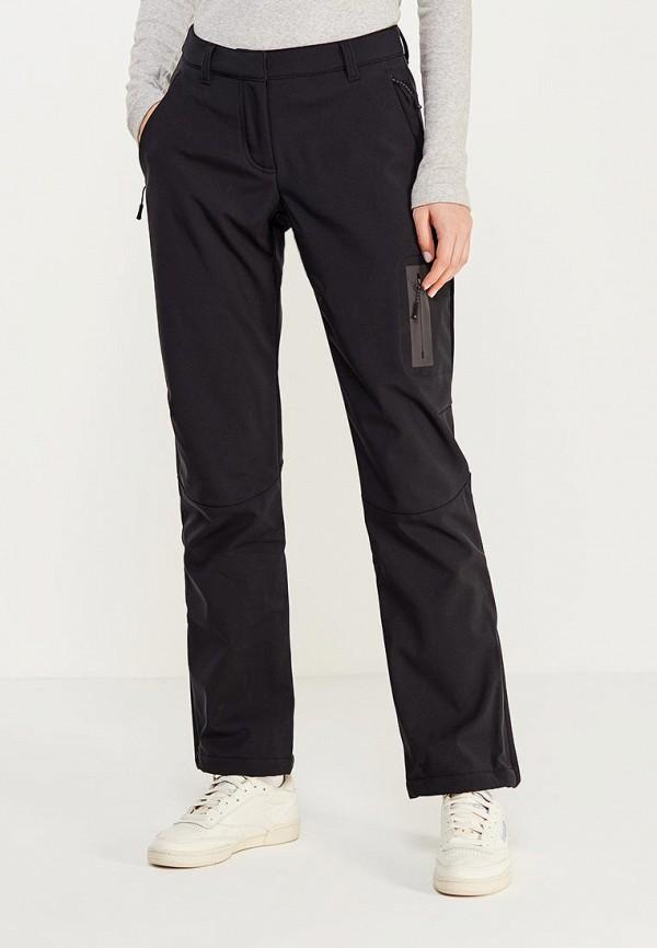 женские спортивные спортивные брюки reebok, черные