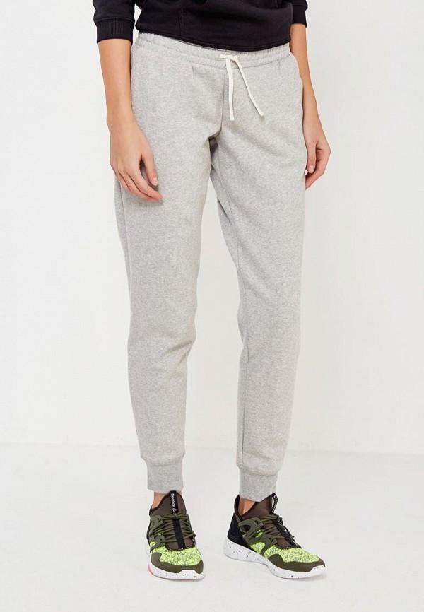 женские спортивные спортивные брюки reebok, серые