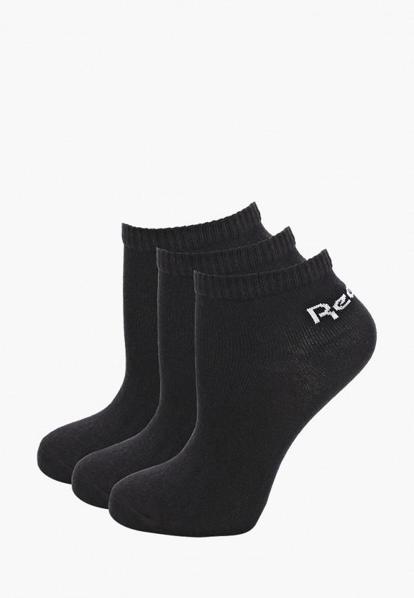 Носки 3 пары Reebok черного цвета