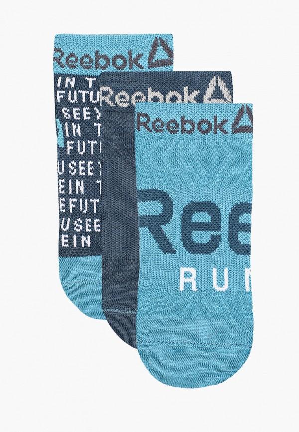 женские носки reebok, синие