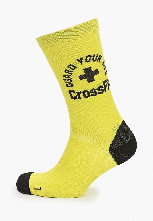 женские носки reebok, желтые