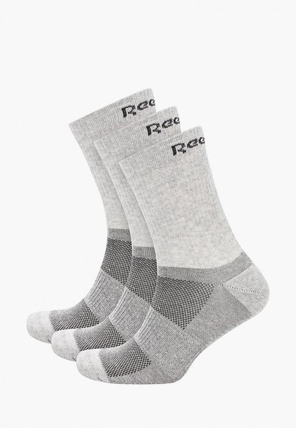 женские носки reebok, серые