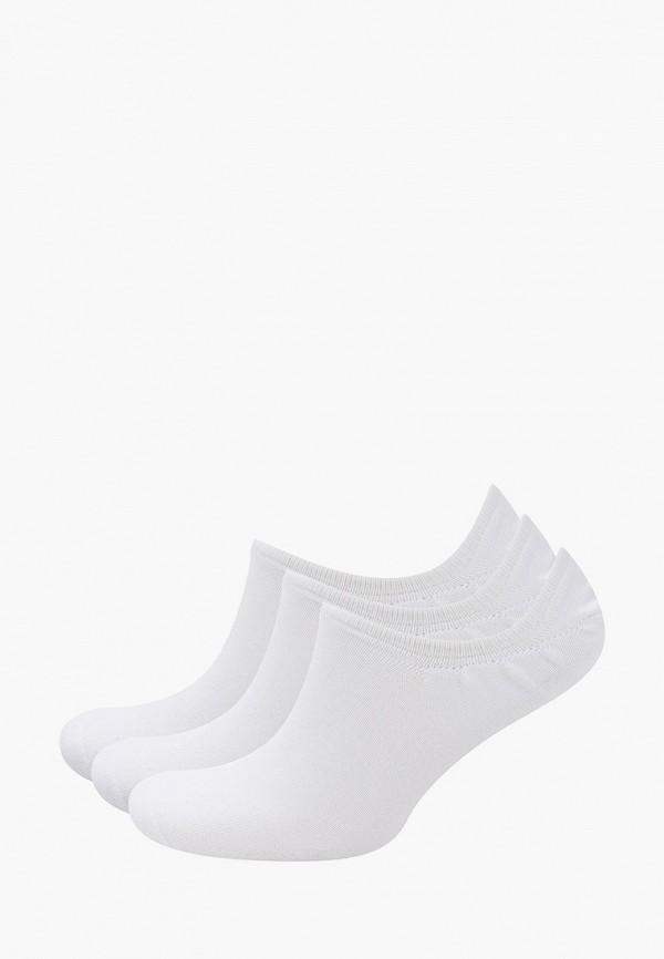 Носки 3 пары Reebok белого цвета