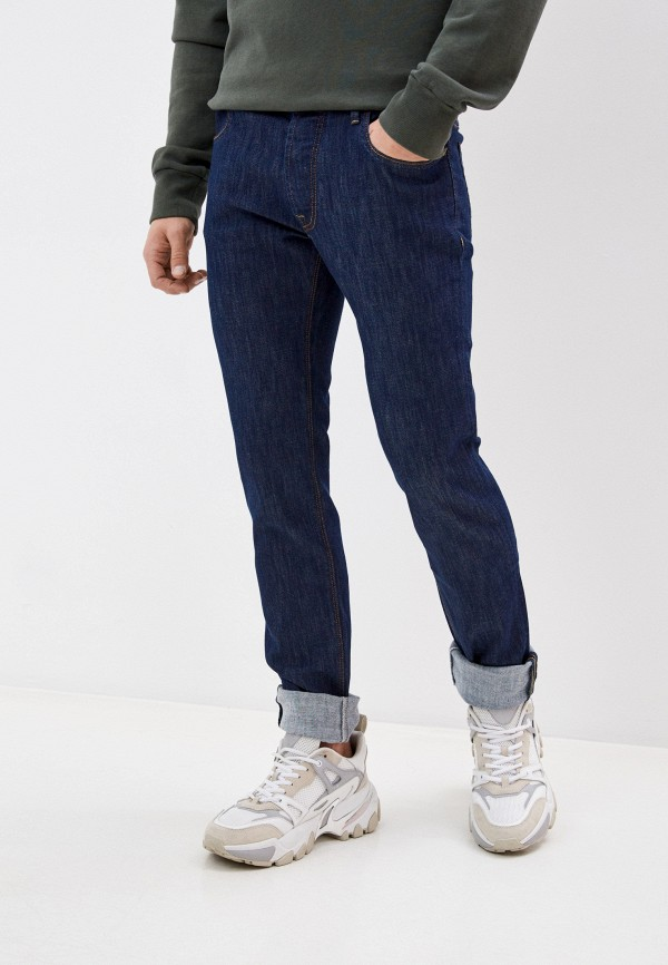 мужские зауженные джинсы re-hash, синие