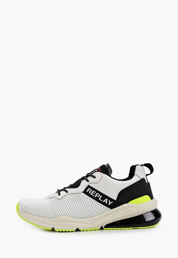 мужские кроссовки replay, белые