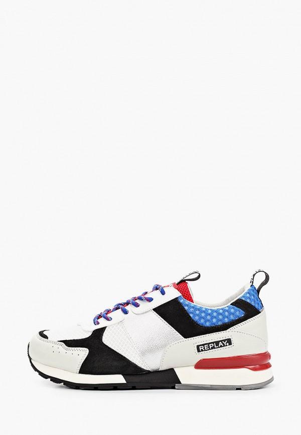 мужские низкие кроссовки replay, разноцветные