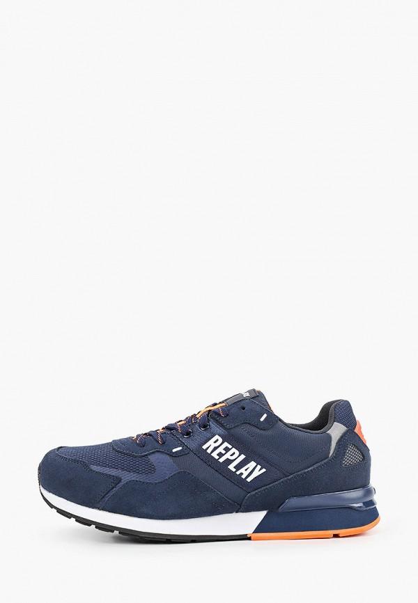 мужские кроссовки replay, синие