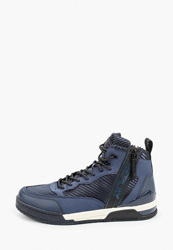 мужские ботинки replay, синие