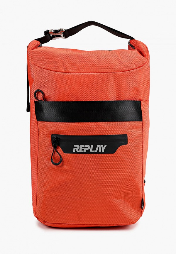 мужской рюкзак replay, оранжевый