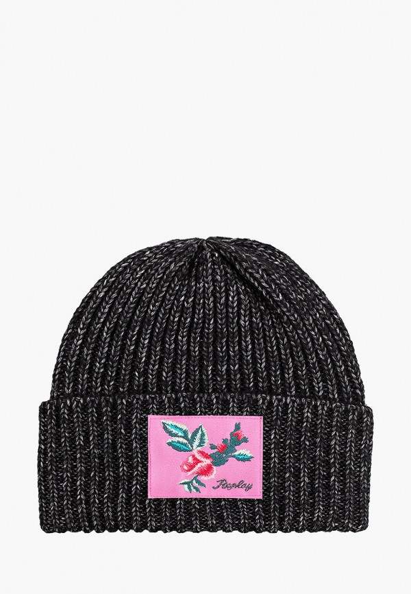 шапка replay для девочки, черная