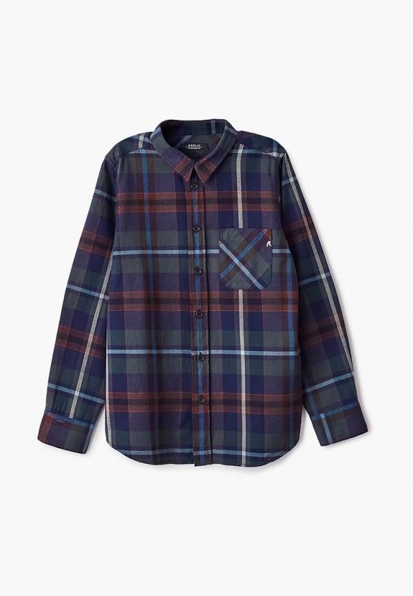 рубашка replay для мальчика, разноцветная