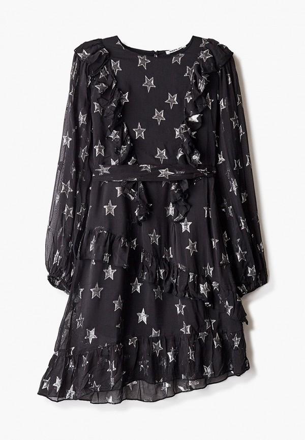 платье replay для девочки, черное