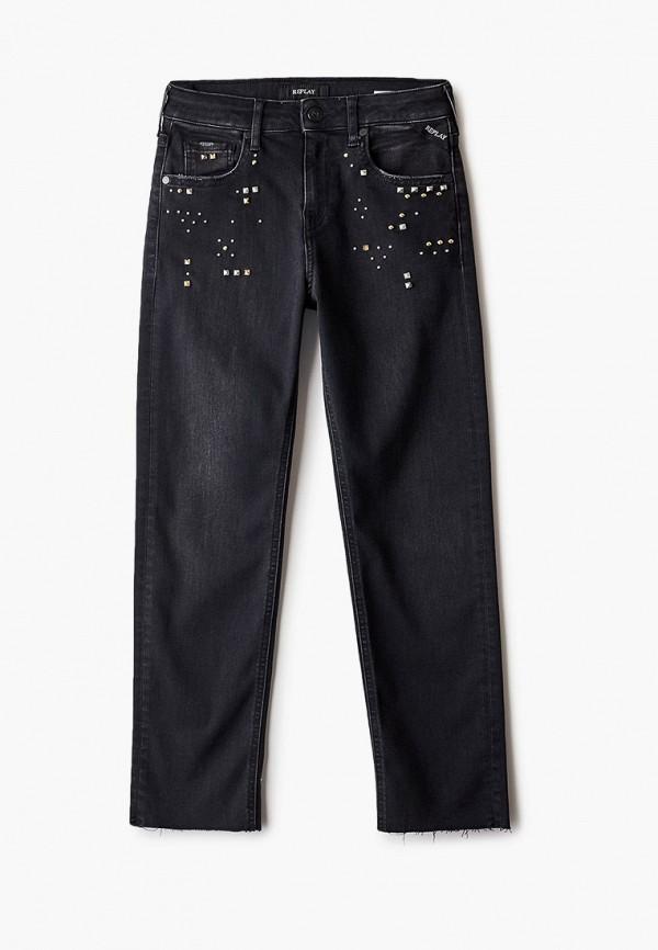 джинсы replay для девочки, черные