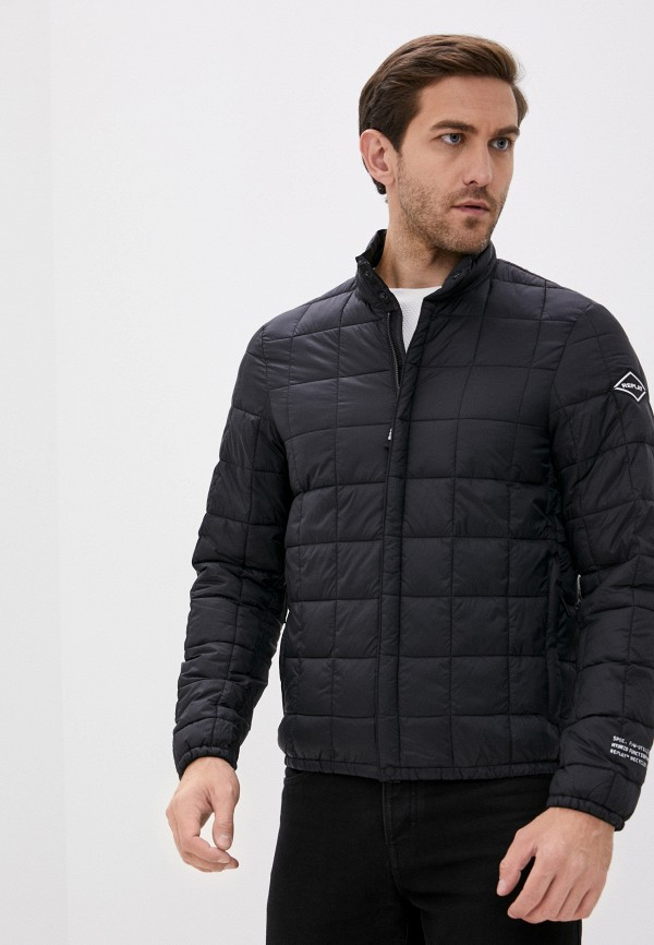 мужская куртка replay, черная