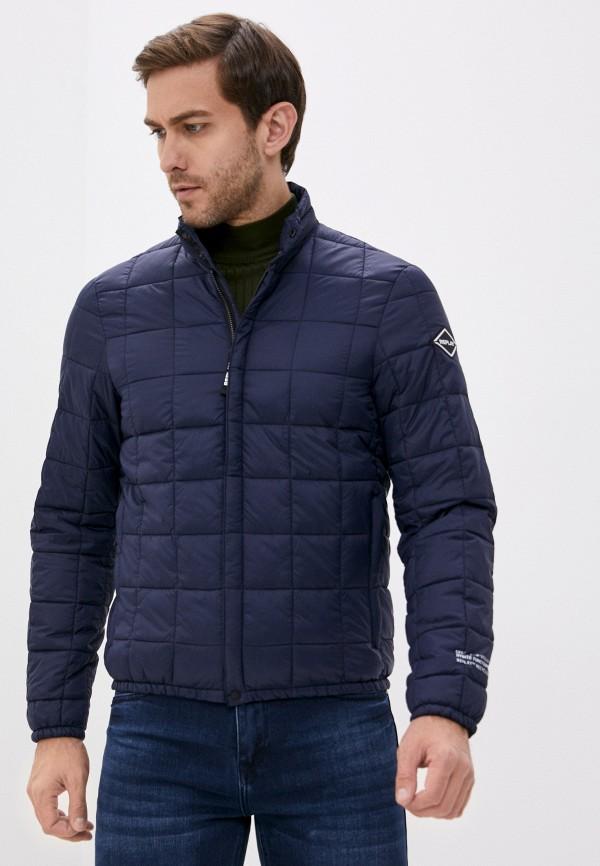 мужская куртка replay, синяя