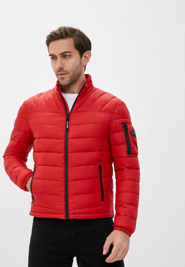 мужская куртка replay, красная