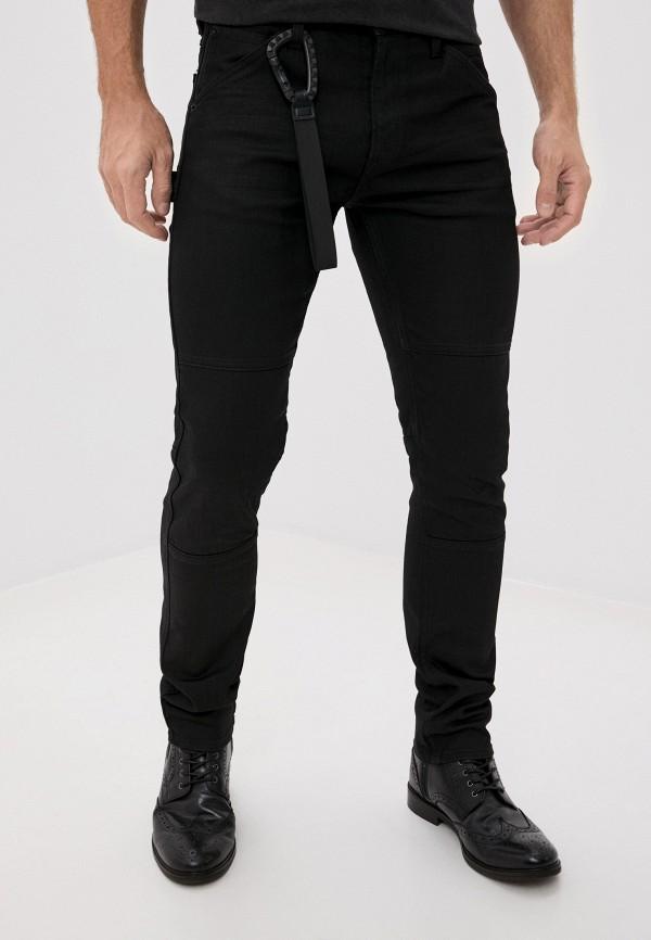 мужские прямые джинсы replay, черные