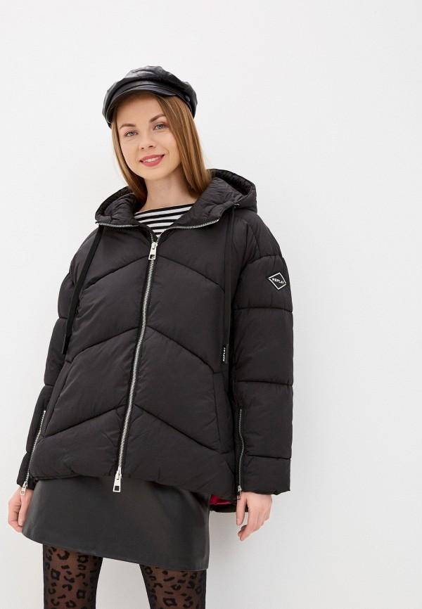 женская куртка replay, черная