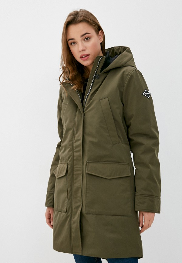 женская куртка replay, хаки