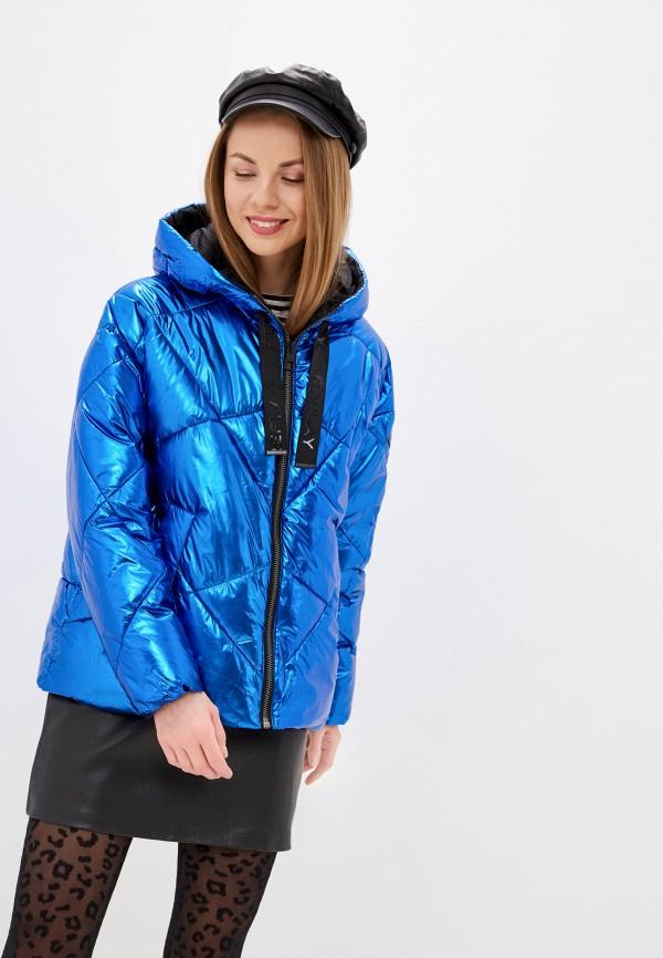 женская куртка replay, синяя