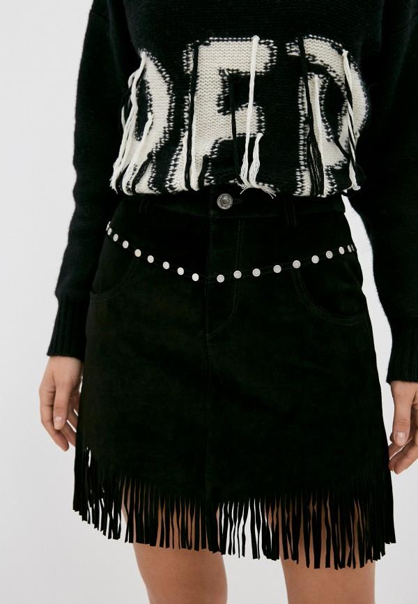 женская юбка replay, черная