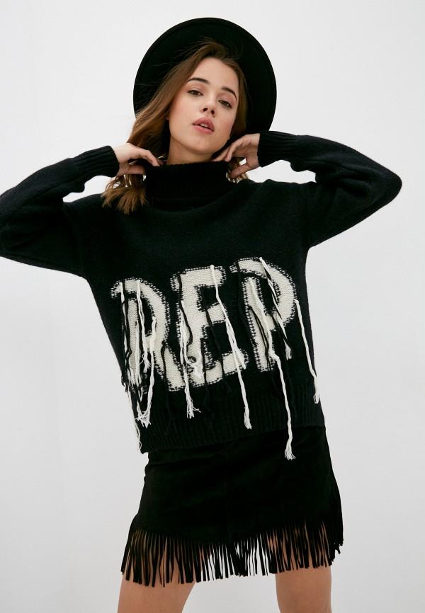 женский свитер replay, черный