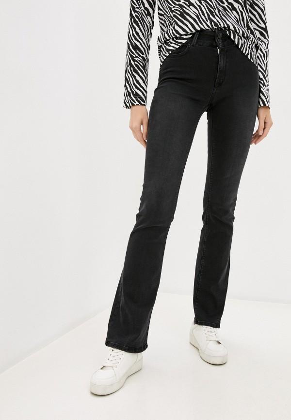 женские джинсы клеш replay, серые