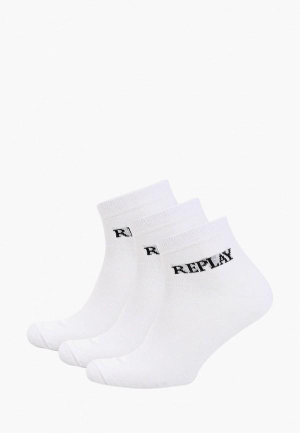 мужские носки replay, белые