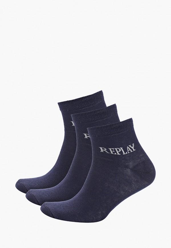 мужские носки replay, синие