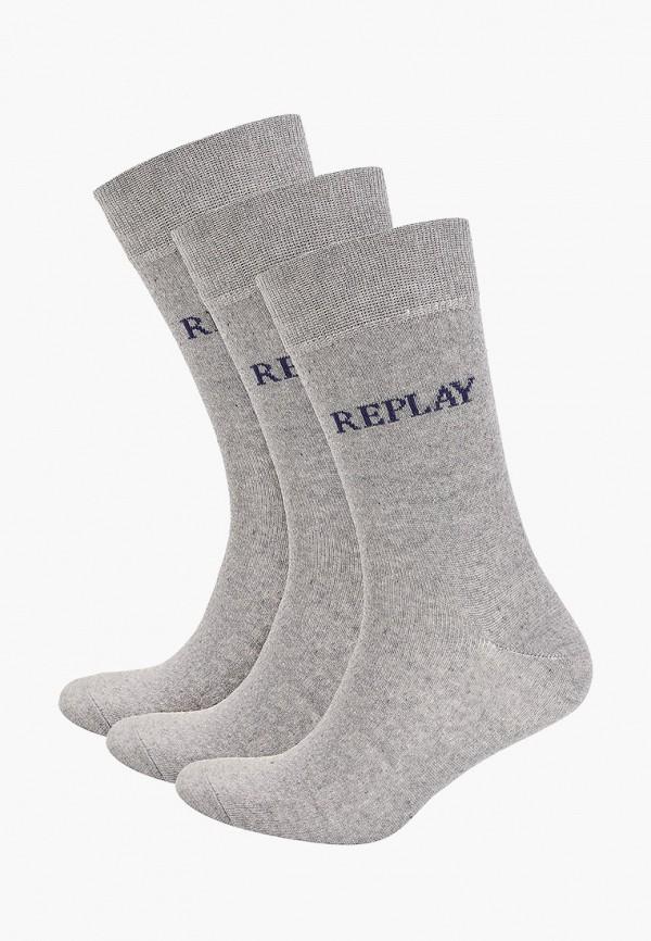 мужские носки replay, серые