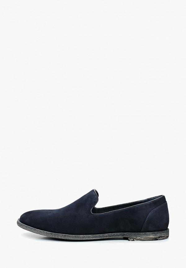 мужские туфли respect, синие