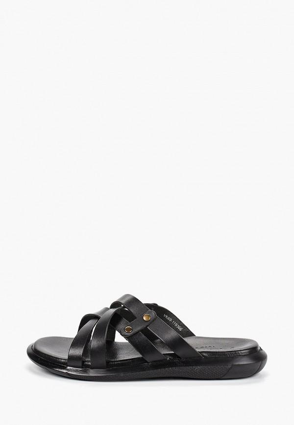 мужские сандалии respect, черные